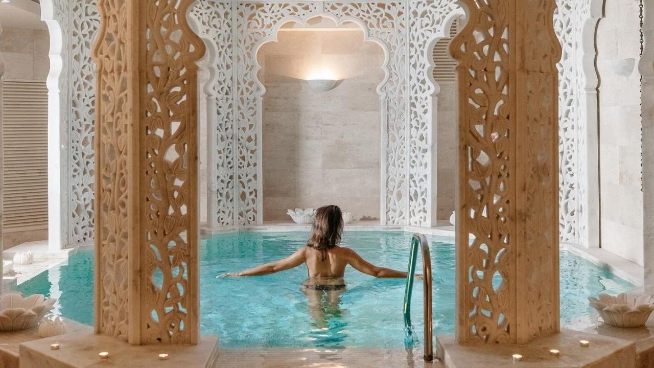 Princesių baseinas palangoje Viešbutis Vanagupė