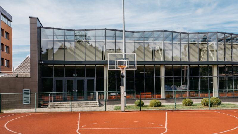 Krepšinio aikštelė Viešbutis Vanagupė