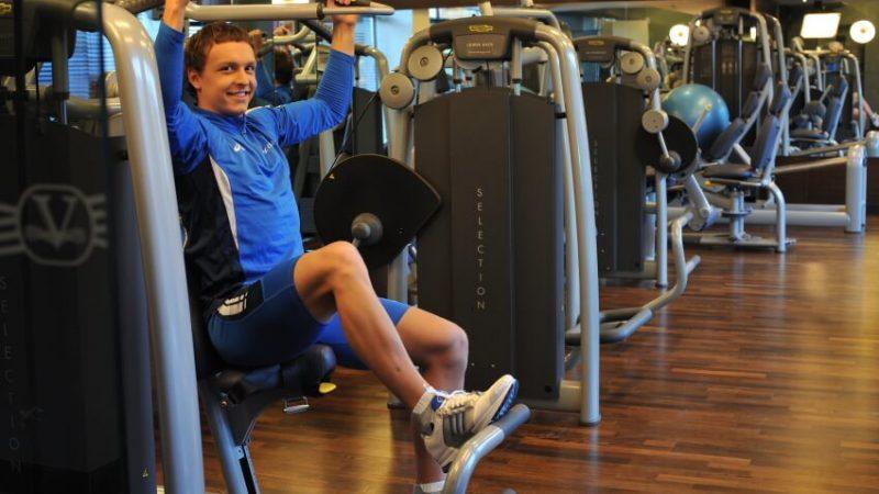 Sporto ir treniruoklių salė Viešbutis Vanagupė