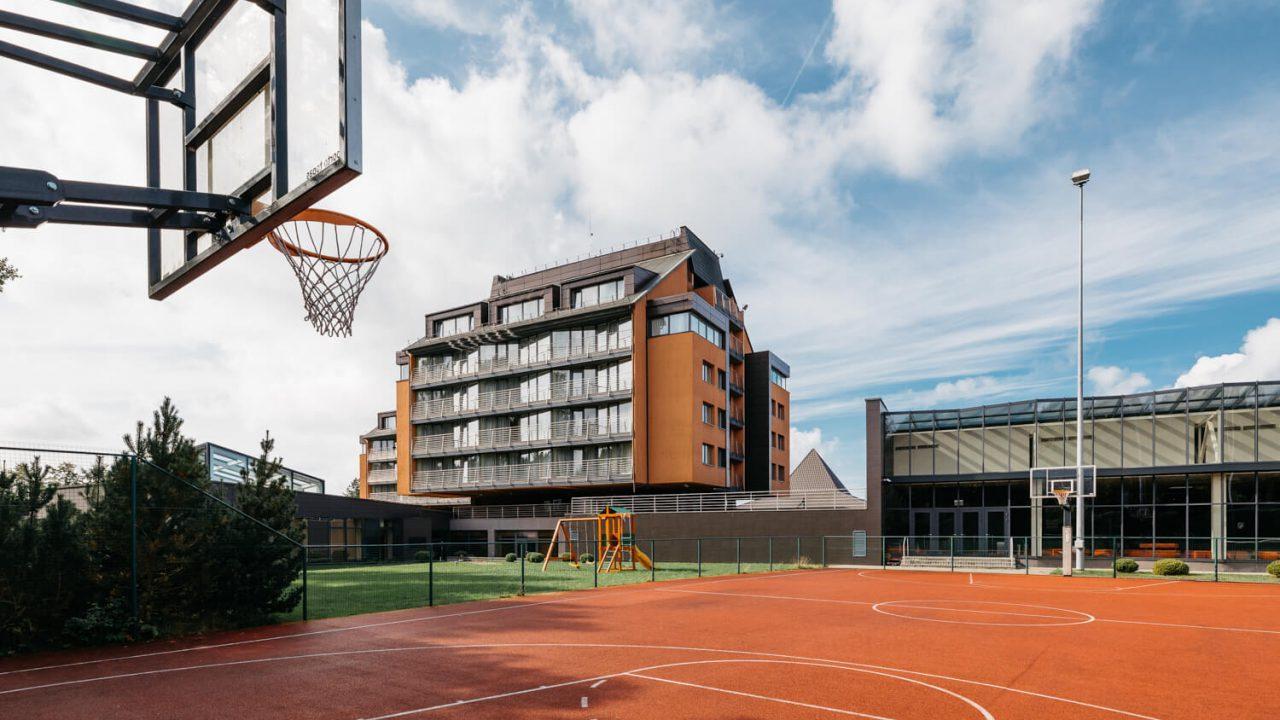krepšinio aikštelės nuoma palanga
