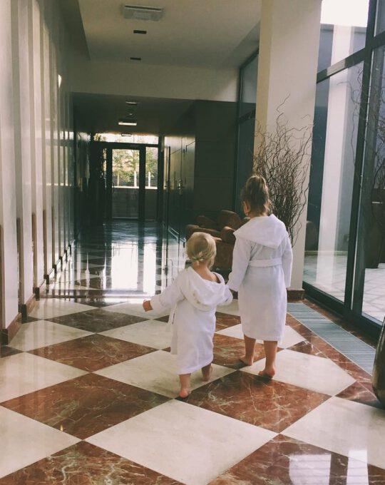 Vaikiškas masažas palangoje - Viešbutis Vanagupė