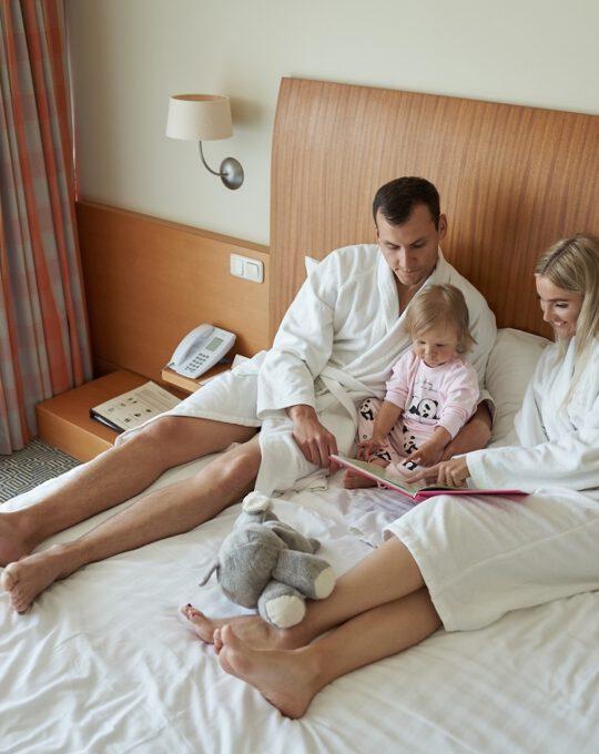 Poilsis su vaikais Palangoje