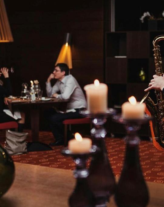 Jaukus muzikos vakaras su šefo vakariene restorane - Viešbutis Vanagupė