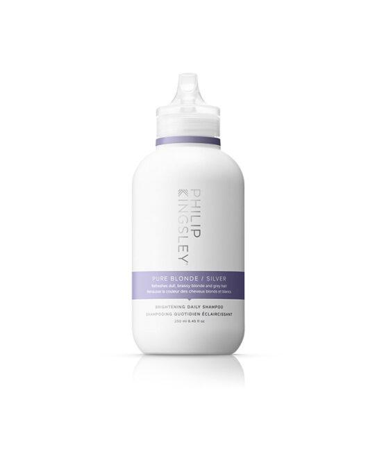 Skaistinantis kasdienis šampūnas sidabrinio atspalvio šviesiams plaukams 250 ml