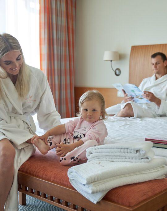 šeimos atostogos palangoje