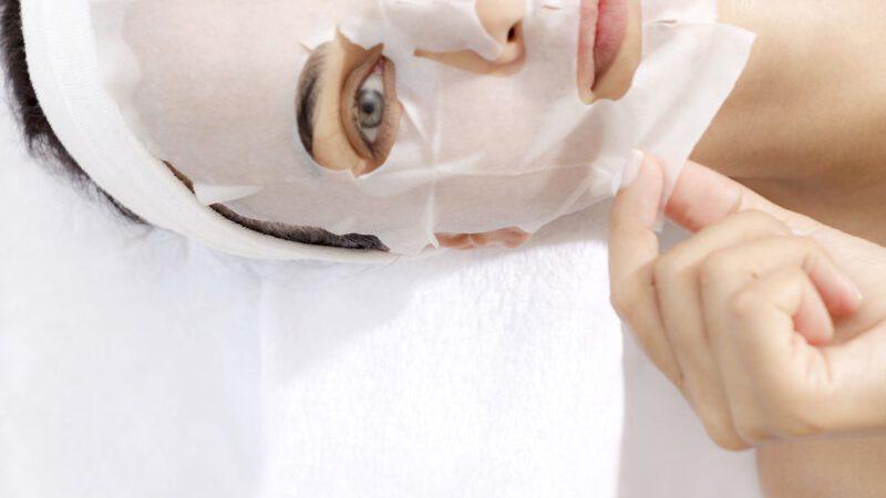 THALGO lakštinė – veido kaukė su spirulina bei magniu