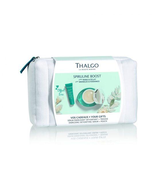 Energizuojantis detoksikuojantis THALGO rinkinys kosmetikinėje