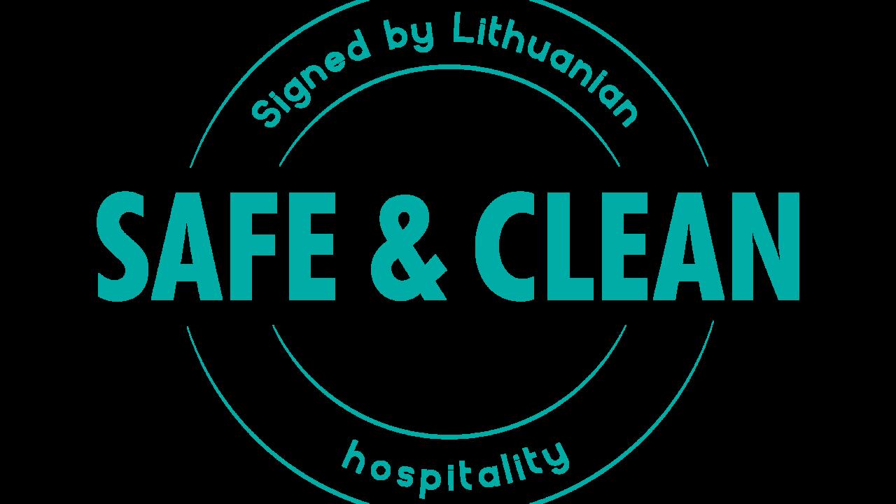 SAFE CLEAN sertifikatas viesbutis Vanagupe